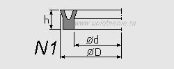 Профиль воротниковой манжеты N1