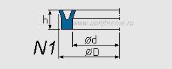 Профиль воротниковой манжеты N1_P