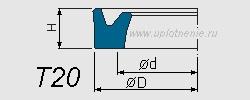 Профиль воротниковой манжеты T20