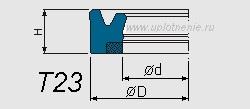 Профиль воротниковой манжеты T23