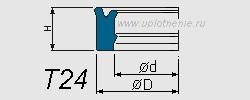 Профиль воротниковой манжеты T24